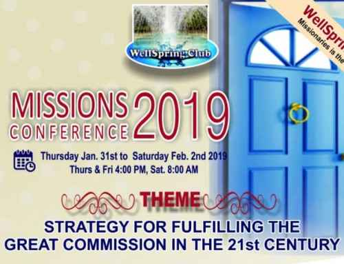 2019 Mission Conference Report